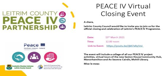 Leitrim PEACE IV Closing Event